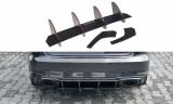 Stredový spojler pod zadný nárazník AUDI RS3 8V FACELIFT SPORTBACK 2017-
