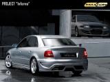 Zadný nárazník Audi A4 B5 saloon versions 1994 - 2000