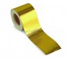 Hliníková páska zlatá Gold Heat Wrap Barrier 50mm x 5m