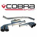 Catback výfuk Cobra Sport Nissan GT-R R35 (08-15)