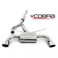 Catback výfuk Cobra Sport Toyota GT86 (12-) - verzia s rezonátorom