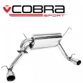 Catback výfuk Cobra Sport Toyota MR2 Roadster (99-07) - oválne koncovky