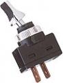 Vypínač 12mm 20A / 12V chróm - on / off