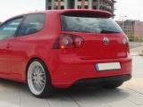 Zadní difuzor nárazníku VW GOLF V R32 (bez výřezu pro výfuk, pro standart. výfuk
