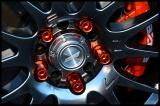 Kolesové racingové matice (štifty) D1 Spec závit M12 x 1.25 - červené