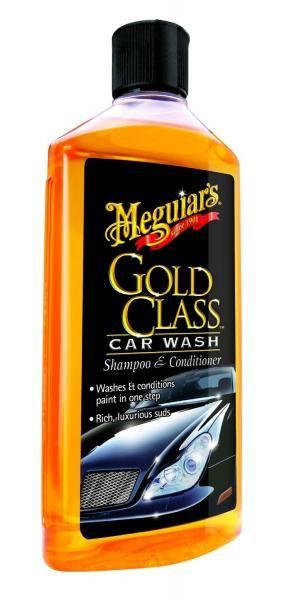 Meguiars Gold Class Car Wash Shampoo & Conditioner 473ml - autošampón a kondicionér