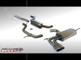 Catback výfuk Milltek Seat Leon Cupra 2.0 TFSI 240PS (06-) - verzia bez rezonátora - koncovka Special Oval (homologácia)