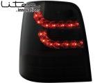 Zadní čirá světla černá LED Litec Volkswagen Touran