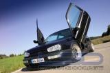 Vertikálne otváranie dverí LSD VW Golf 3 typ 1HXO, 1H (09 / 91-) 3dv.