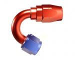 "Fitinka koleno 150 ° D-06 (AN6) 9/16 ""x18-UNF - cutter-system - skrutkovacie"