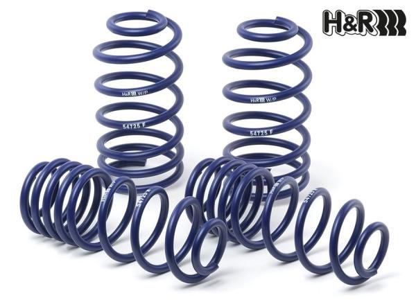 Sportovní pružiny H&R pro Kia Carens/Rondo Typ RP, r.v. od 2013, snížení 25/25mm