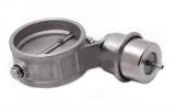 Podtlaková mechanická výfuková klapka 89mm - zavřená - negativní tlak (vacuum)