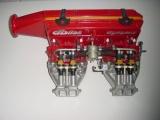 Víceklapkové sání Dbilas Dynamic Opel Kadett C / Ascona B / Manta B / Rekord E 2.0-2.2 8V (CIH)