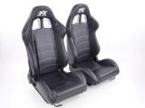 Sportovní sedačky FK Automotive Seattle - kůže