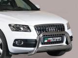 Nerezový přední ochranný rám Audi Q5, 63mm