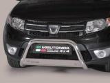 Nerezový přední ochranný rám Dacia Sandero Stepway, 63mm