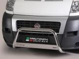 Nerezový přední ochranný rám Fiat Ducato, 63mm