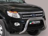 Nerezový přední ochranný rám Ford Ranger, 76mm