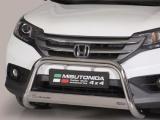 Nerezový přední ochranný rám Honda CR-V IV, 63mm