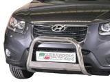 Nerezový přední ochranný rám Hyundai Santa-Fe II FL, 63mm