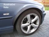 Lemy blatníků BMW 3 (E46), 4-dvéř. sedan, kombi, černý mat