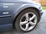 Lemy blatníků Saab 900, 2-dvéř. , černý mat
