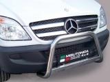 Nerezový přední ochranný rám Mercedes Sprinter, 63mm