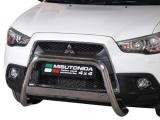 Nerezový přední ochranný rám Mitsubishi ASX III, 63mm