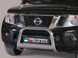 Nerezový přední ochranný rám Nissan Pathfinder III FL, 63mm