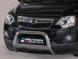 Nerezový přední ochranný rám Opel Antara FL, 63mm