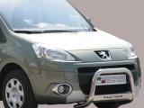 Nerezový přední ochranný rám Peugeot Partner, 63mm