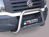 Nerezový přední ochranný rám Volkswagen Crafter, 63mm