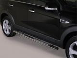 Nerez boční designové nášlapy Chevrolet Captiva FL