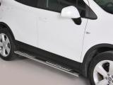 Nerez boční designové nášlapy Opel Mokka