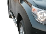Nerez boční designové nášlapy Toyota Land Cruiser 150, 5-dvéř.
