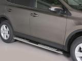 Nerez boční designové nášlapy Toyota RAV4 IV