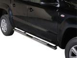Nerez boční designové nášlapy Volkswagen Amarok