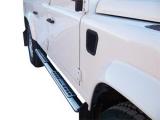 Nerez boční designové nášlapy Land Rover Defender 90