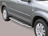 Boční nerezové nášlapy Honda CR-V II FL