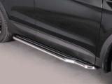 Boční nerezové nášlapy Hyundai Santa Fe III