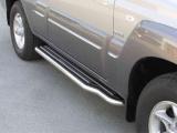 Boční nerezové nášlapy Hyundai Terracan