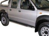 Boční nerezové nášlapy Nissan NP300