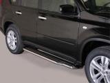 Boční nerezové nášlapy Nissan X-Trail II FL