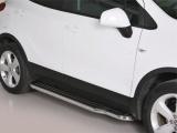 Boční nerezové nášlapy Opel Mokka
