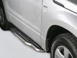 Boční nerezové nášlapy Suzuki Grand Vitara, 3-dvéř.