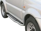Boční nerezové nášlapy Suzuki Jimny