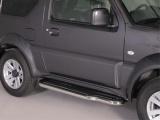 Boční nerezové nášlapy Suzuki Jimny (od 2012)