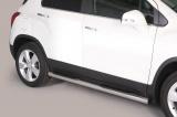 Nerez boční nášlapy se stupátky Chevrolet Trax