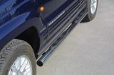 Nerez boční nášlapy se stupátky Jeep Grand Cherokee II