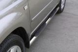Nerez boční nášlapy se stupátky Nissan X-Trail I